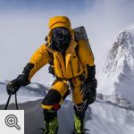 David Goettler sur le Nanga Parbat<br />© The North Face