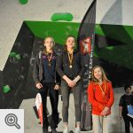 Podium Cup Youth B filles<br />© M. Timmermans