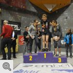 Podium Youth A filles<br/>© D. Timmermans