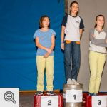 Podium Youth C filles<br />© Vincent Lescaut