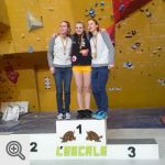 Podium Coupe Junior filles<br />© M. Timmermans