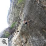 Mathieu dans PuntX (9a)<br />© Laurent Wery
