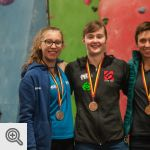 Podium belge Senior dames<br />© M. Timmermans