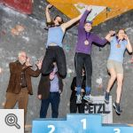 Podium Junior filles<br />© Vincent Lescaut