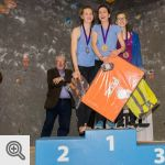 Podium Youth A filles<br />© Vincent Lescaut