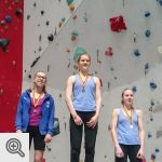 Podium Coupe de Belgique Lead youth A filles<br />© M. Timmermans