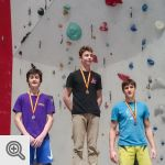 Podium Coupe de Belgique Lead youth A garçons<br />© M. Timmermans