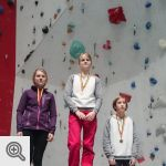 Podium Coupe de Belgique Lead youth C filles<br />© M. Timmermans
