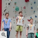 Podium Coupe de Belgique Lead youth C garçons<br />© M. Timmermans