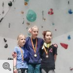 Podium Coupe de Belgique Lead youth D filles<br />© M. Timmermans