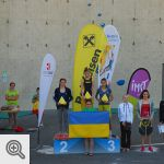 Lucie en bronze à Imst<br />Photo : Kletterzentrum Imst