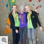 Podium Youth A filles<br/>© Xavier Lüthi