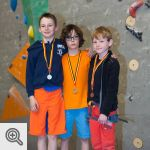Podium Youth D garçons<br/>© Xavier Lüthi
