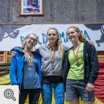 Podium Junior filles <br/>© M. Timmermans