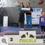 Podium Youth D filles<br/>© Xavier Lüthi