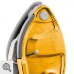 Le GriGri+ en version orange<br />© Petzl